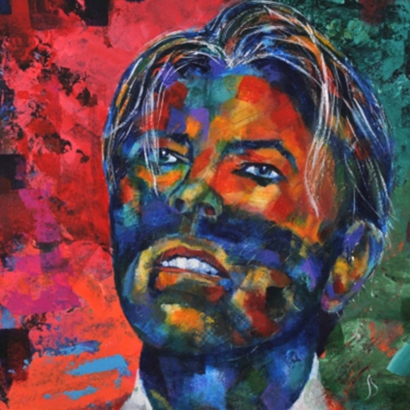 Limited Edition Artwork by SEeL - David Bowie