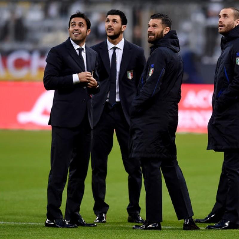 Roberto Soriano's Italy National Football Team Trench Coat
