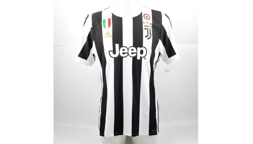 Signed Authentic Marchisio Juventus Shirt, 2017/18