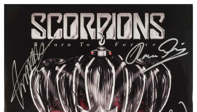 Signed Scorpions vinyl