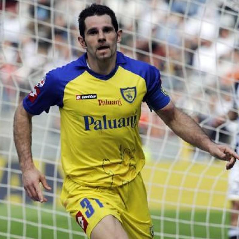 Pellissier's Match Worn Shirt, Fiorentina-Chievo Verona 2009