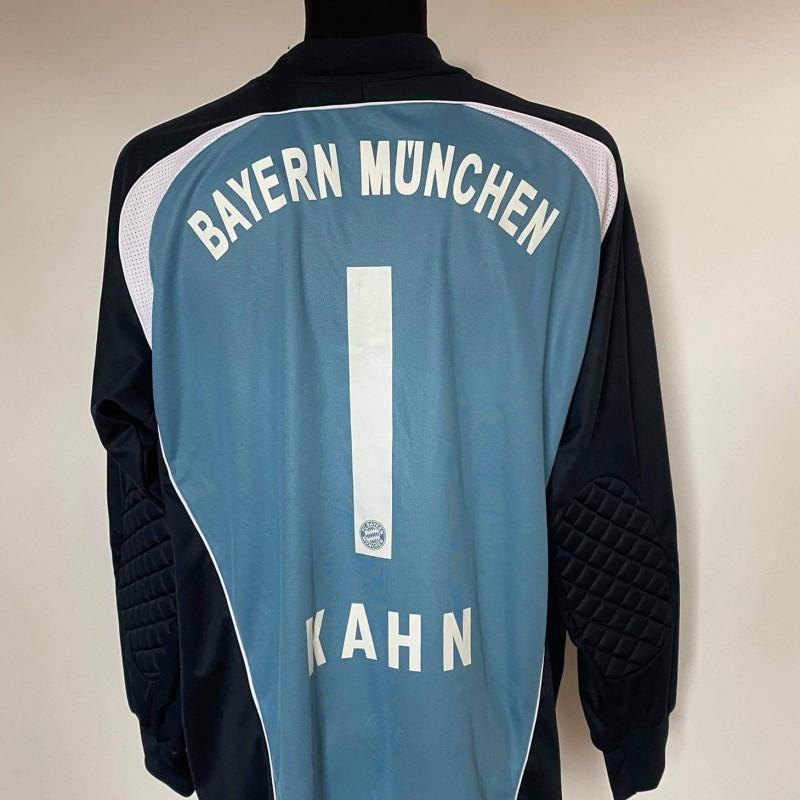 Kahn's Bayern  Munchen Match Worn Shirt 2007