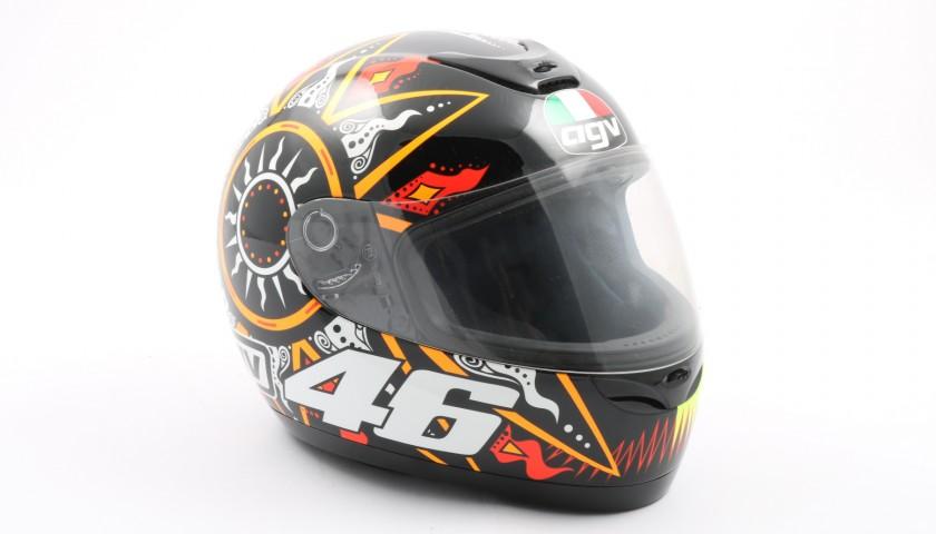 Replica Helmet Signed by Valentino Rossi