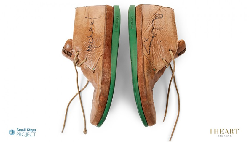 Michael Palin Signed Shoes