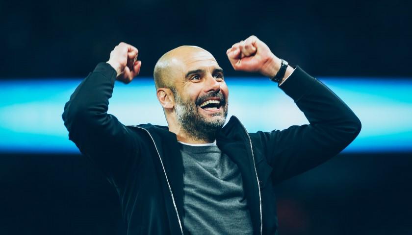 Manchester City Manager Pep Guardiola Unique Picture