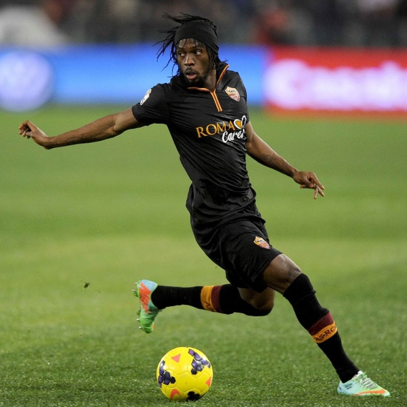 Gervinho's Roma Match Shirt, TIM Cup 2013/14
