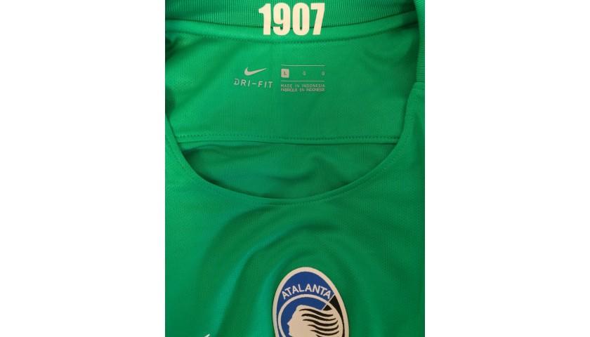 Sportiello's Worn Shirt, Atalanta-Lazio 2016
