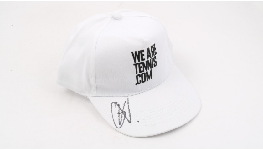 """Wearetennis.com"" Cap Signed by Carla Suarez Navarro"