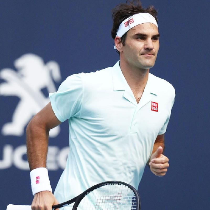 Roger Federer's Signed Match Socks