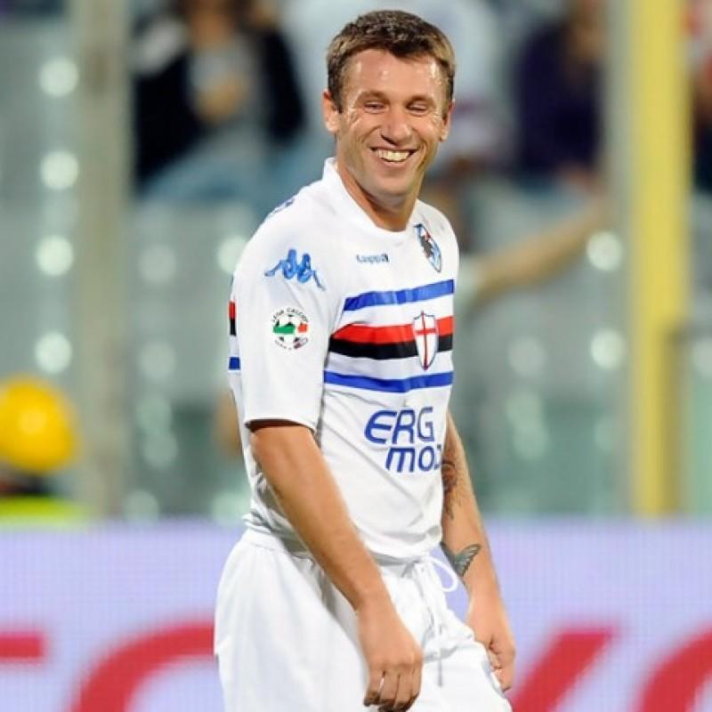 Maglia Ufficiale Cassano Sampdoria, 2009/10 - Autografata