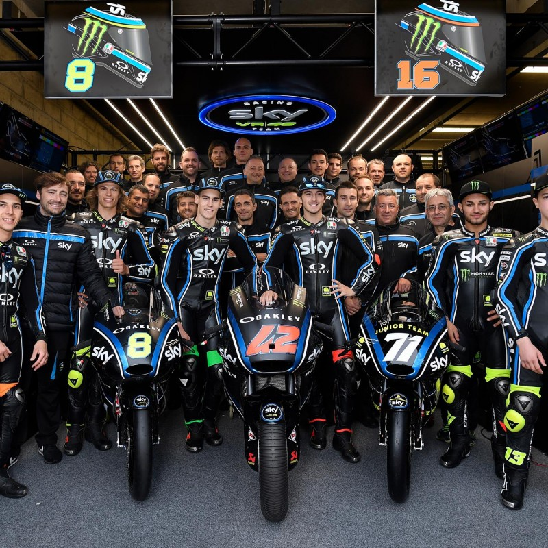 "Meet Valentino Rossi's ""VR46 Sky Racing Team"" at the San Marino Grand Prix"