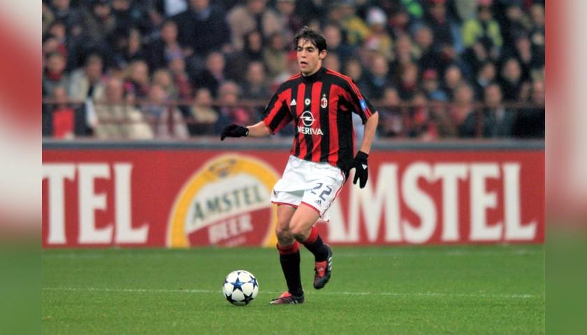 Kaka's Milan Match Shirt, 2003/04
