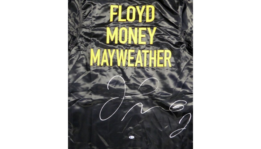 Floyd Mayweather, Jr. Hand Signed Boxing Robe