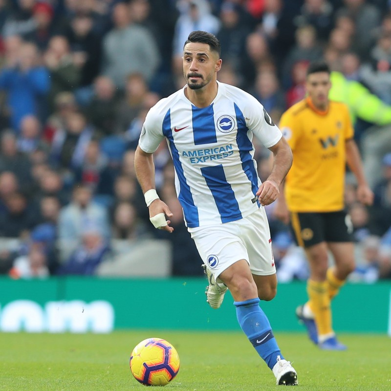 Brighton & Hove Albion Match-Issued Shirt Signed by Beram Kayal
