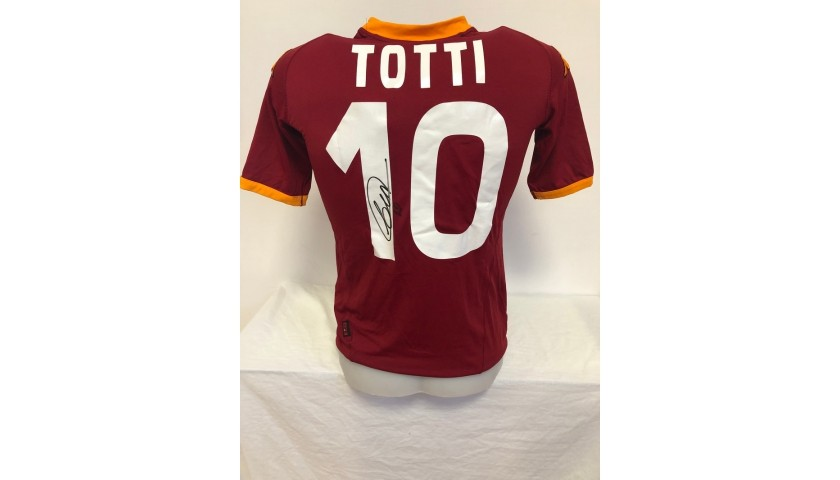 Totti's Official Roma Signed Shirt, 2007/08