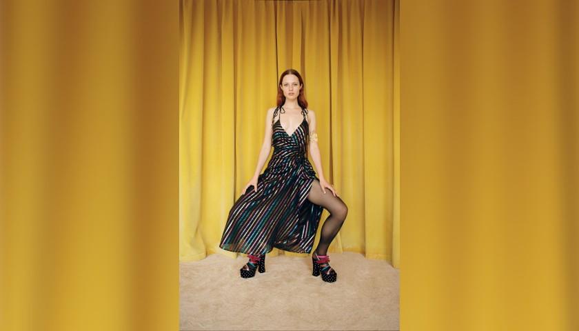 Multicolored Dress by The Attico