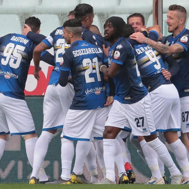 Gobbi's Worn Shirt, Parma-Sampdoria - #Blucrociati