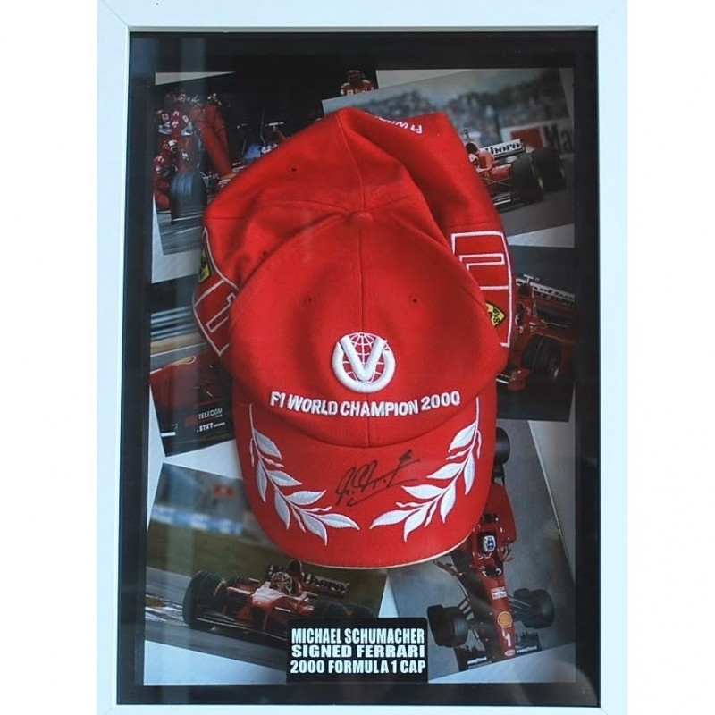 Official Ferrari Cap Signed by Michael Schumacher