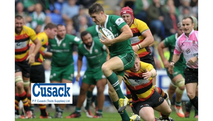 Attend the London Irish Rugby Match from a Box for 12