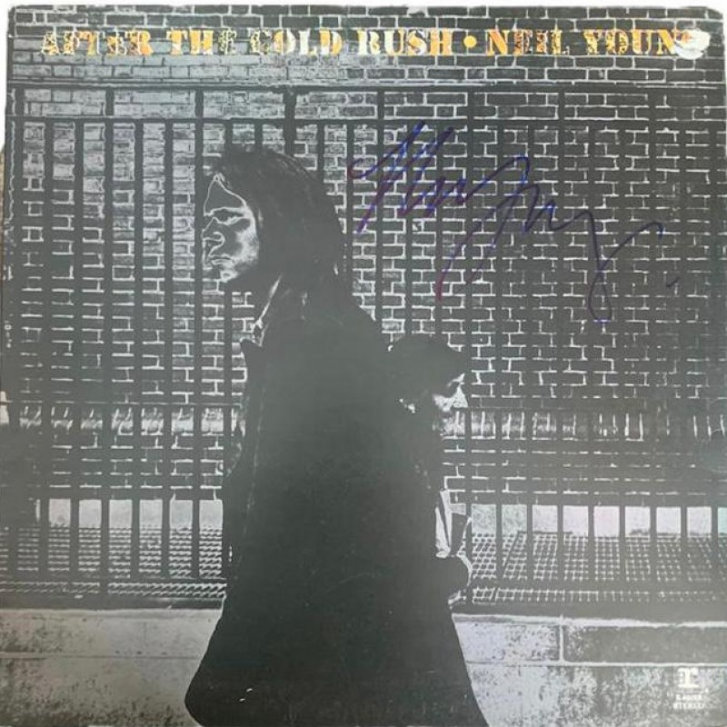 Neil Young After The Gold Rush Signed Vinyl LP