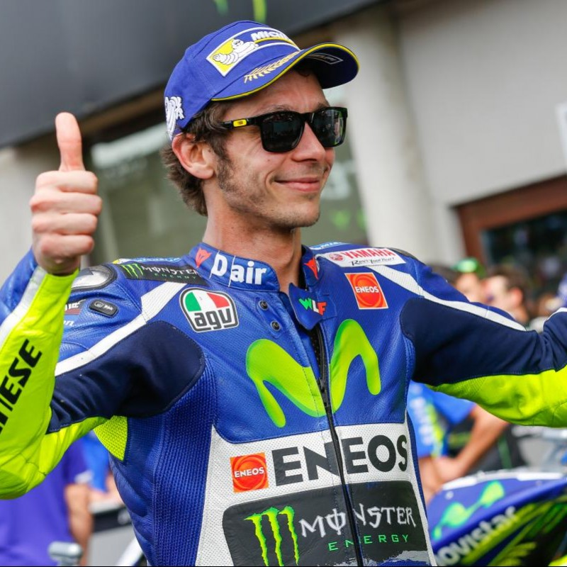 Meet Valentino Rossi and Take Home his Helmet