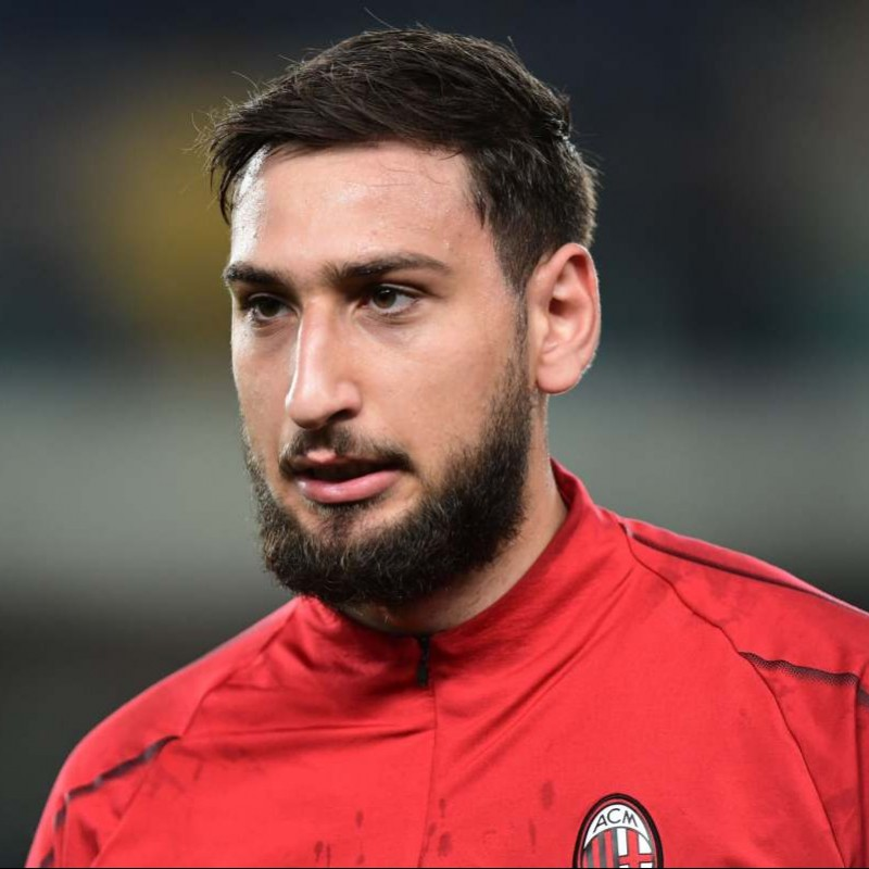 Donnarumma's Italy Match-Issue Shirt, 2018 - Special Patch