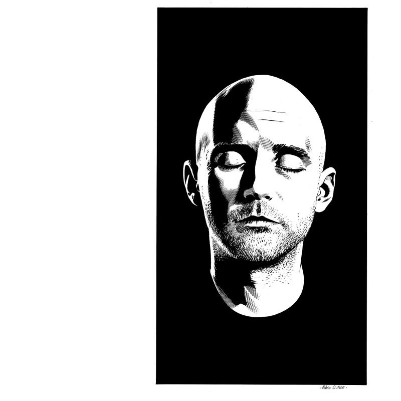 Moby's portrait by Fabio Civitelli
