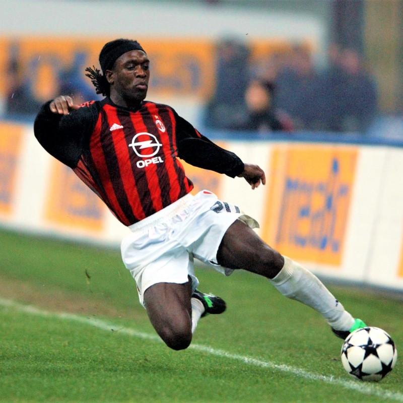 Seedorf's Milan Match Shirt, 2002/03