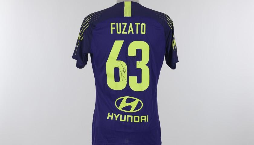 Fuzato's Match-Issue Shirt, Spal-Roma- Special Giuliano Taccola ...