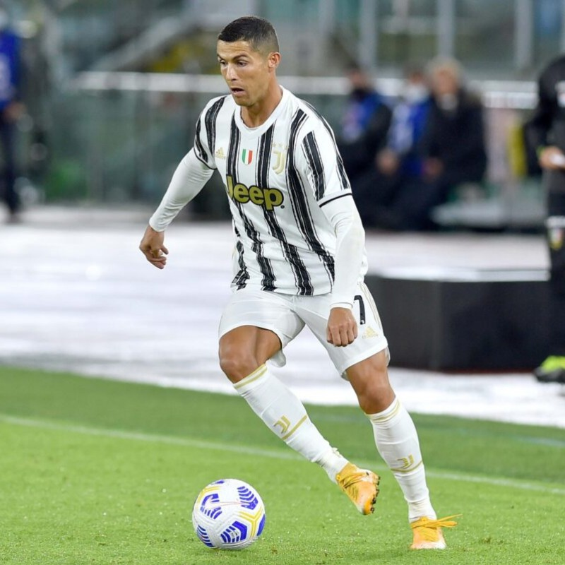 Ronaldo's Official Juventus Signed Shirt, 2020/21