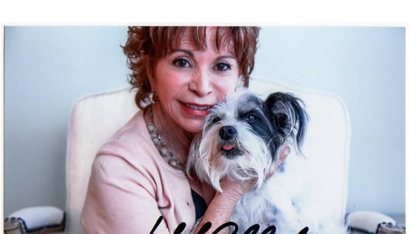 Isabel Allende Signed Picture
