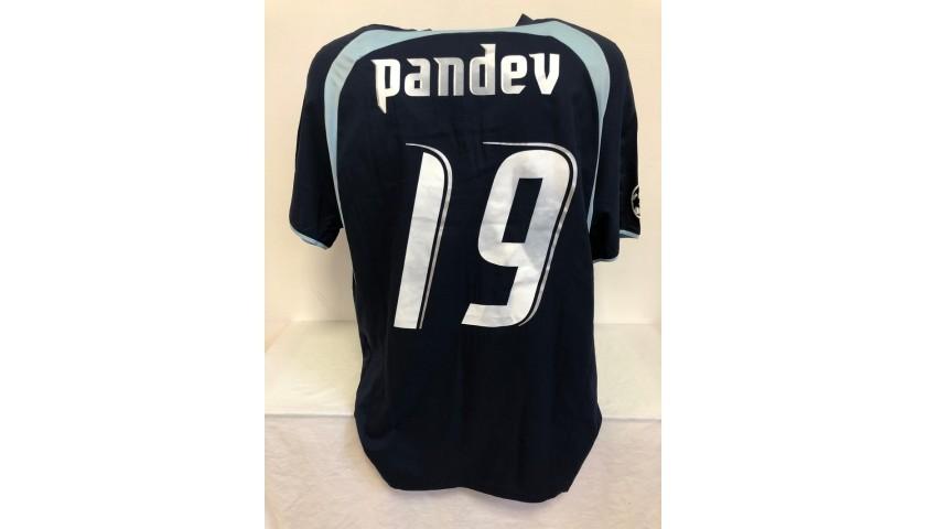 Pandev's Lazio Match Shirt, UCL 2006/07