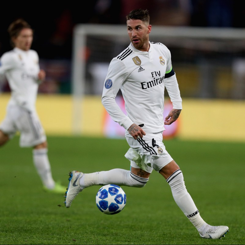 Sergio Ramos' Real Madrid Match Shirt, UCL 2018/19