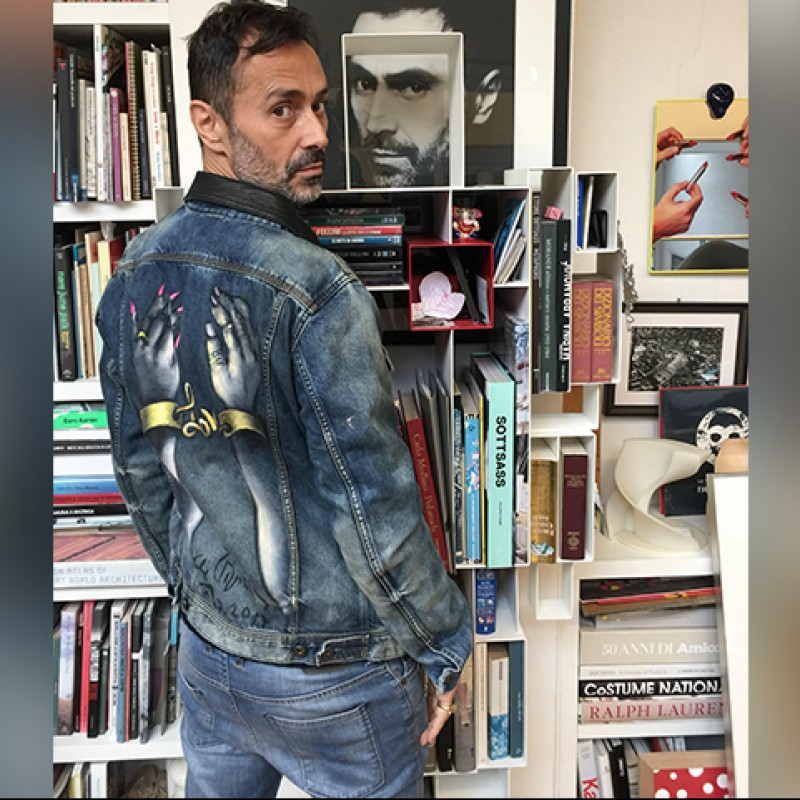Fabio Novembre's Customized Diesel Jacket