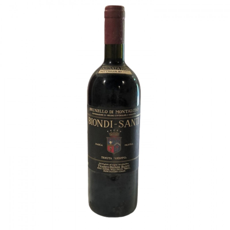 Bottle of Brunello di Montalcino, 1996 - Biondi-Santi