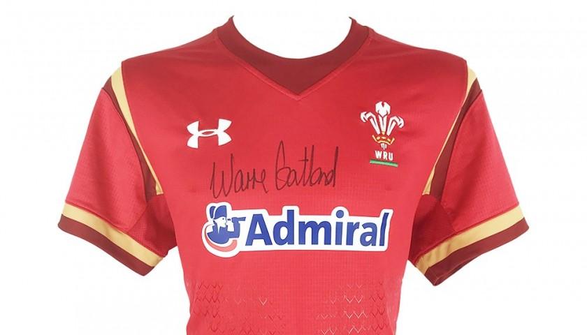 Warren Gatland Wales Rugby Signed Shirt
