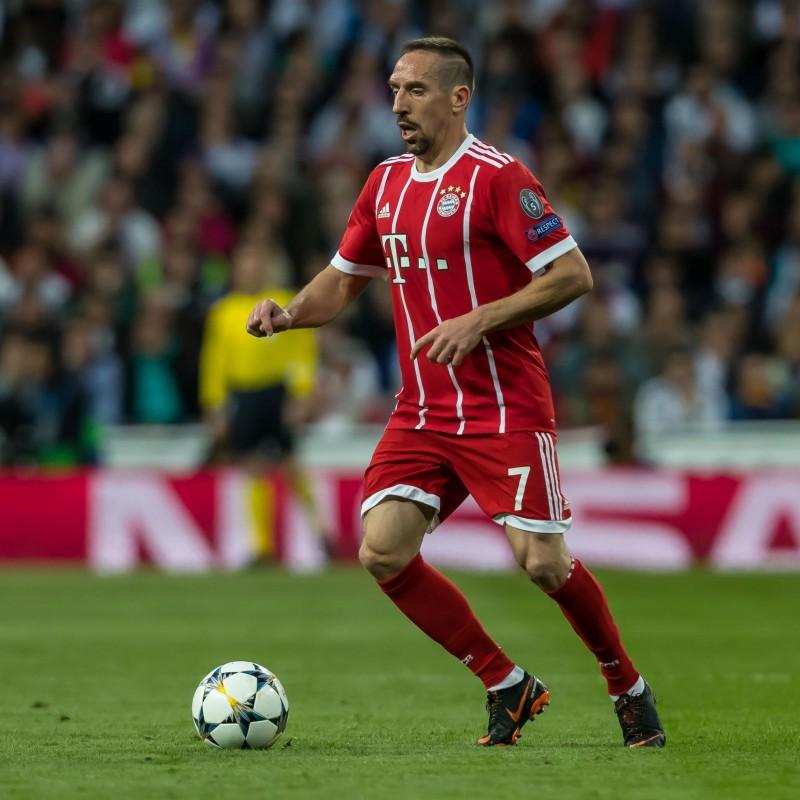 Ribery's Official Bayern Munich Signed Shirt, 2012/2013