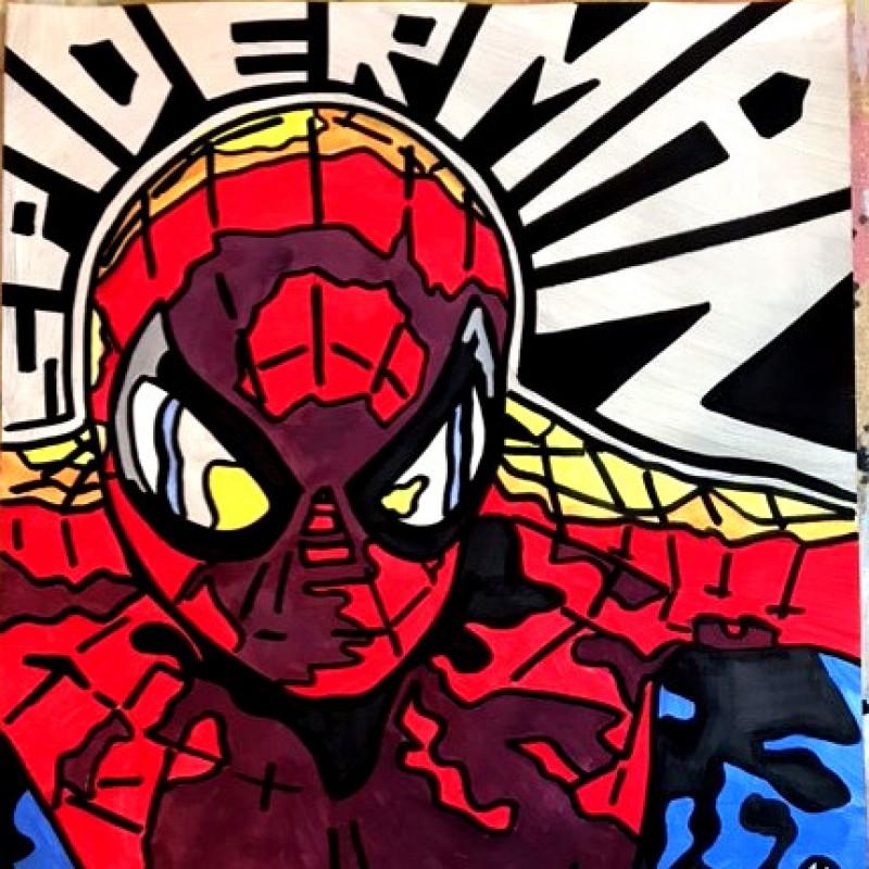 """Spider Man"" Original Board by Riccardo Penati"