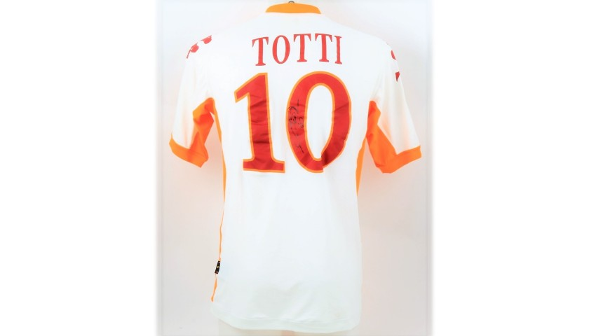 Totti's Official AS Roma Signed Shirt, 2010/11