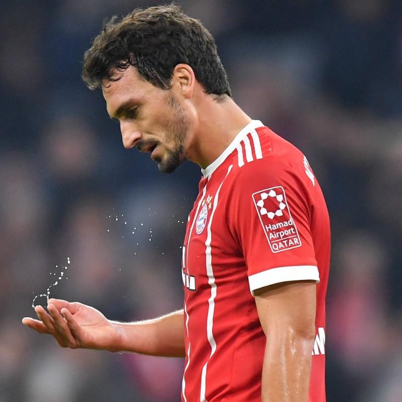 Hummels' Bayern Munich Match Shirt, 2017/18