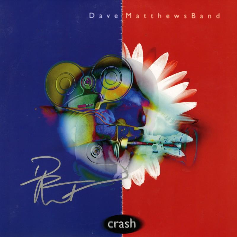 Dave Matthews Hand Signed Record Album