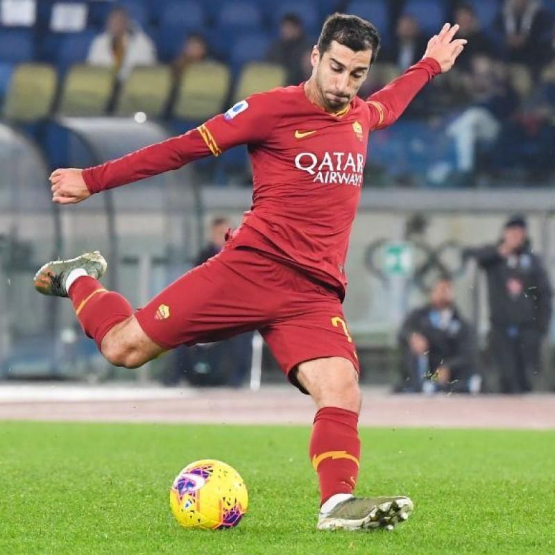 Mkhitaryan's Worn and Signed Shirt, Roma-SPAL 2019