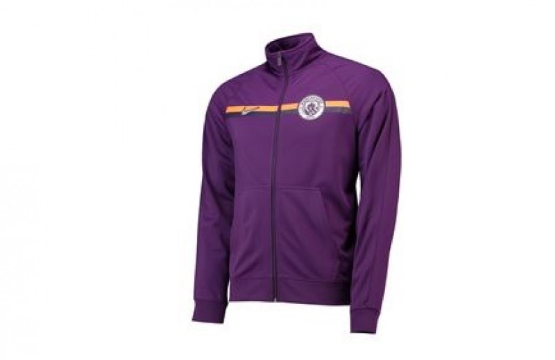 Player Issued Manchester City Nike Zip-up Jacket - L