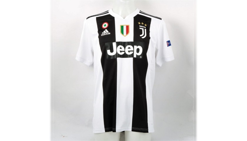 Chiellini's Official Juventus 2018/19 Signed Shirt