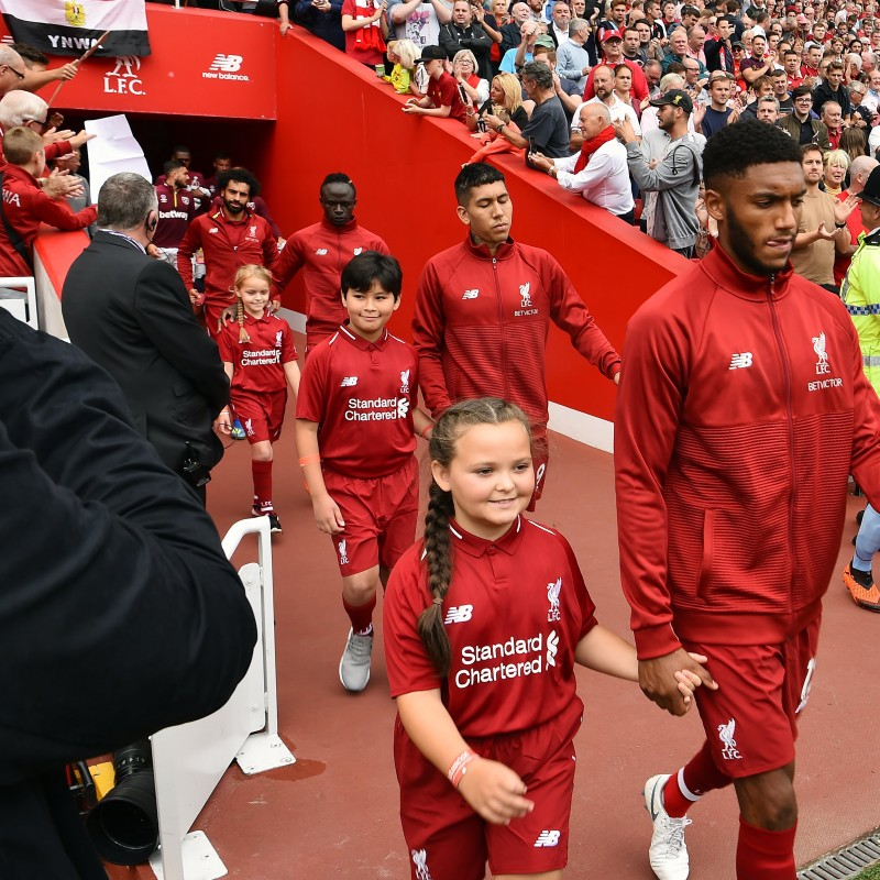 Liverpool FC Mascot Matchday Experience