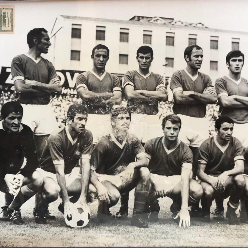 Savoia's Worn and Signed Shirt, Verona-Padova 1968