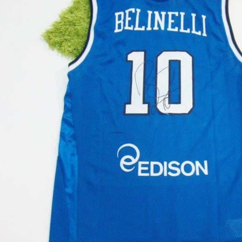 Marco Belinelli's autographed Italian National shirt