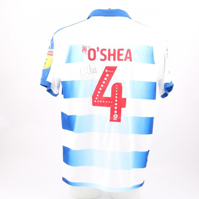 O'Shea's Match-Worn Reading FC Signed Poppy Home Shirt