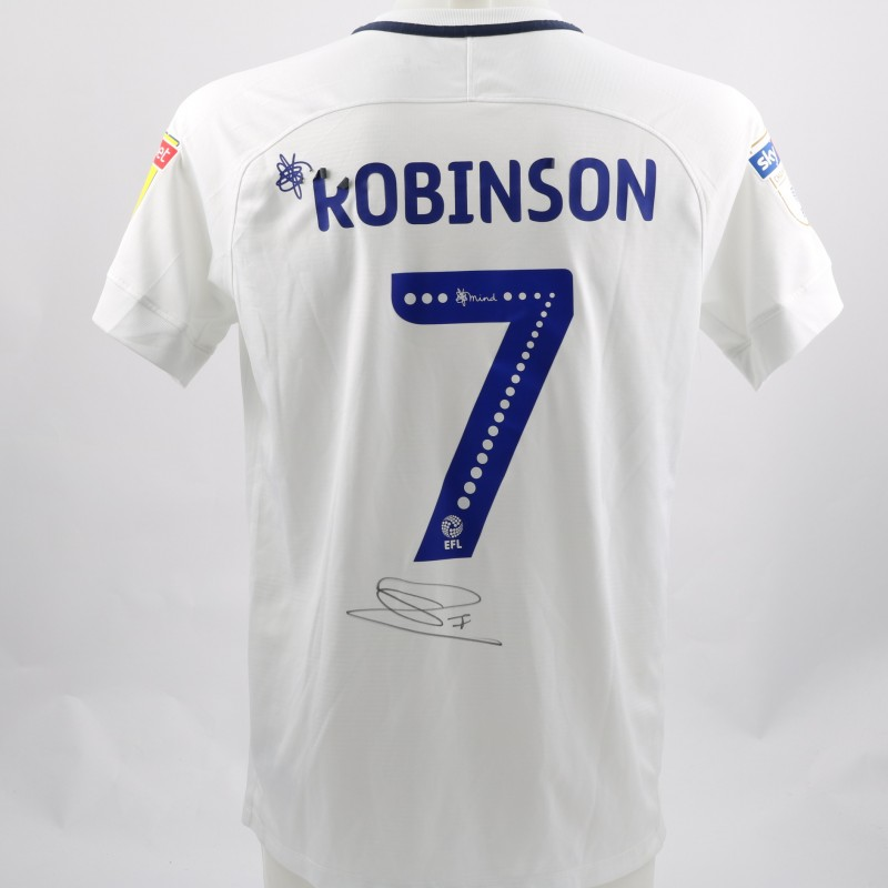 Robinson's Preston Worn and Signed Poppy Shirt