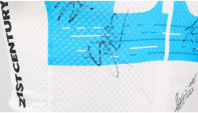 Maglia Ufficiale Team Sky, 2018 - Autografata dal Team